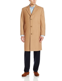 London Fog  - Signature Wool-Blend Topcoat