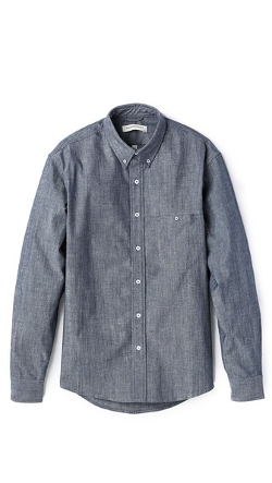 Raleigh Denim - Welt Pocket Chambray Shirt