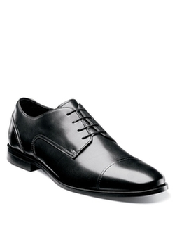 Florsheim  - Jet Leather Cap-Toe Oxford Shoes