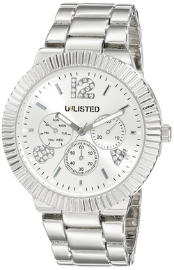 Unlisted - City Streets Triple Silver Watch