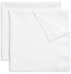 Brooks Brothers - Hand-Rolled Cotton Handkerchiefs