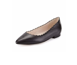 Cole Haan  - Alice Scalloped Skimmer Flat Shoes