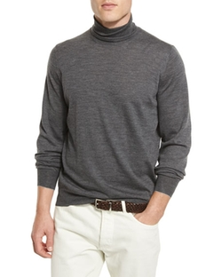 Brunello Cucinelli - Fine-Gauge Turtleneck Sweater
