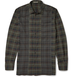 Bottega Veneta - Plaid Cotton Shirt