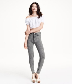 H&M - Slim-Fit Pants High