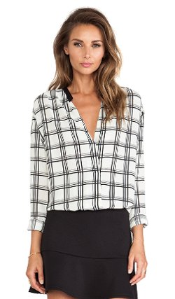 Liv - Tiffany Crossover Blouse