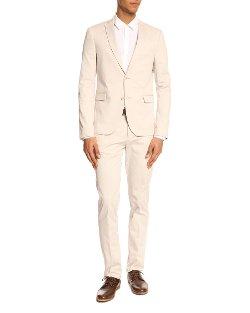 The Suits - 71 Beige Cotton Suit