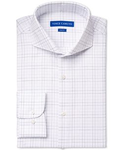 Vince Camuto - Graphic Check Dress Shirt