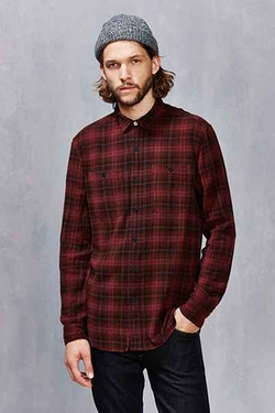 Urban Outfitters - Koto Uka Overdyed Plaid Button-Down Shir