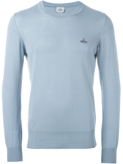 Vivienne Westwood Man - Embroidered Logo Jumper