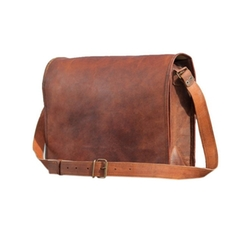 Phoenix Craft - Leather Full Flap Messenger Bag