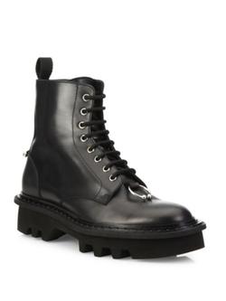 Neil Barrett  - Calf Leather Combat Boots