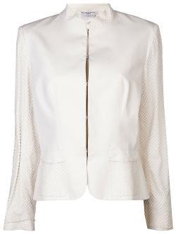 Givenchy Vintage  - Net Overlay Blazer
