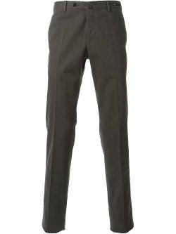 PT01  - Flat Front Chino Pants