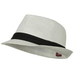 MinLee/Star/Vivian  - Solid Band Summer Straw Fedora