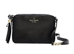 Kate Spade New York - Black Highliner Clover Cross Body Bag