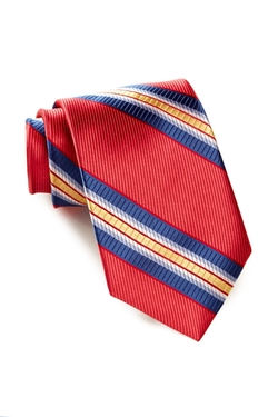 Ike Behar - Stripe Two Silk Tie