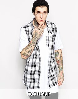 Thomas Codd London - Longline Sleeveless Shirt