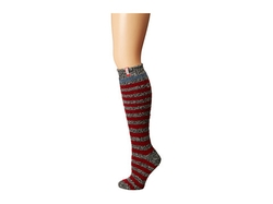 Hunter  - Striped Loop Knit Knee Sock
