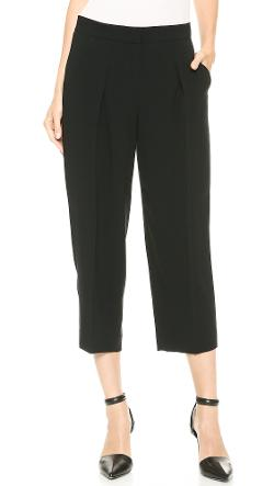 DKNY  - Cropped Wide Leg Pants