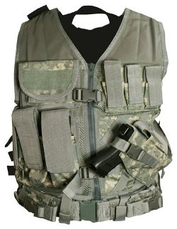 NcStar - Tactical Vest digital Camo Acu