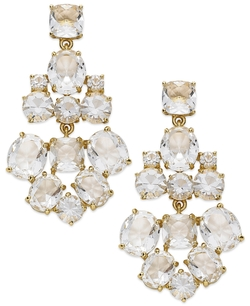 Kate Spade New York - Clear Glass Chandelier Earrings