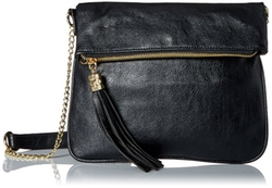 Del Mano  - Zipper Flap Opening Cross Body Bag