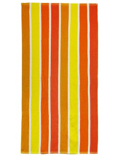 Textiles Plus Inc.  - Striped Terry Beach Towel