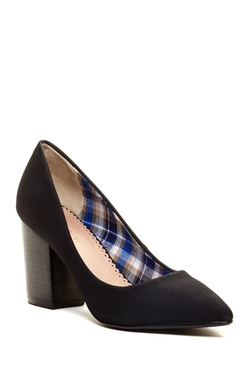 Restricted  - Jay Cubed Heel Pumps