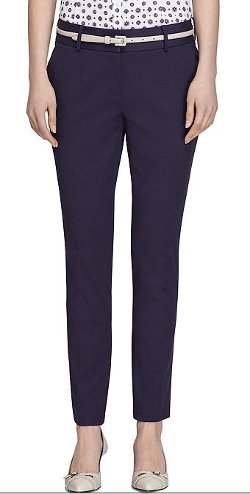 Brooks Brothers - Natalie Fit Italian Cotton Pants