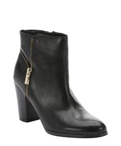 Ciao Bella - Riley Side-Zip Zip Detail Ankle Booties