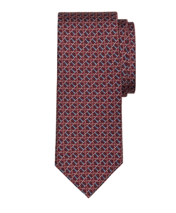 Brooks Brothers - Horsebit Link Print Tie