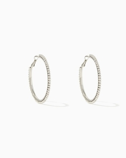 Charming Charlie - Big Beaded Hoops