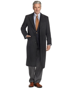 Brooks Brothers - Golden Fleece BrooksStorm Westbury Cashmere Overcoat