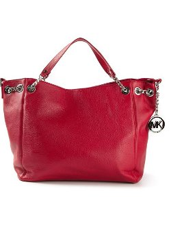 Michael Kors - Chain Details Slouchy Tote Bag