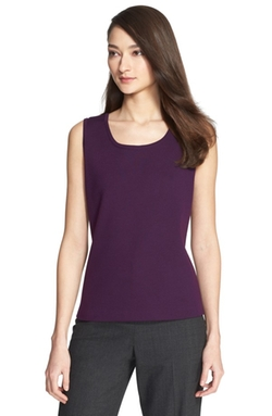 St. John Collection - Milano Knit Contour Tank Top