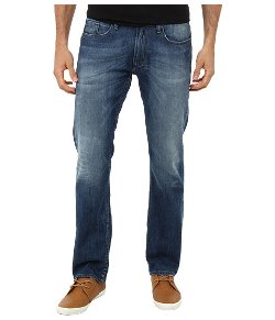 Buffalo David Bitton  - Six Basic Indigo in Heavily Stone Wash Jeans