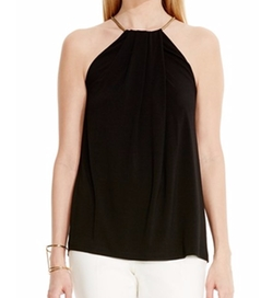 Vince Camuto - Halter Chain Jersey Top