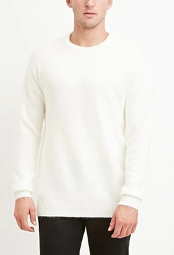 21 Men - Dropped-Sleeve Sweater