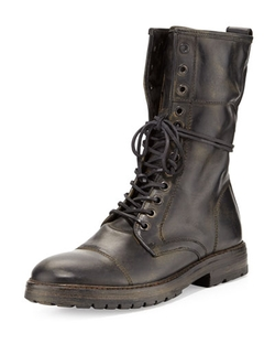 John Varvatos  - Stanley Tall Lace-Up Boots