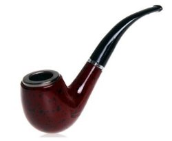 GStar - Clasical Smoking Pipe with Metal Bowl