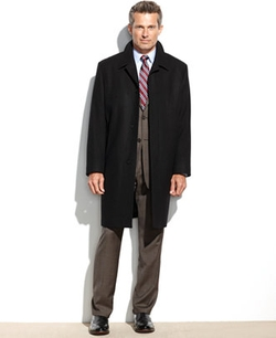 London Fog - Coventry Solid Wool-Blend Overcoat