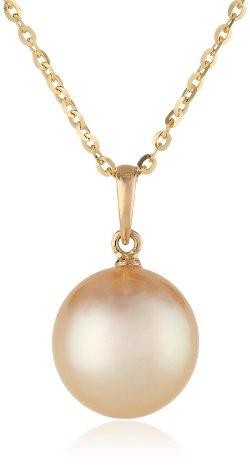 Tara Pearls - Golden South Sea Pendant