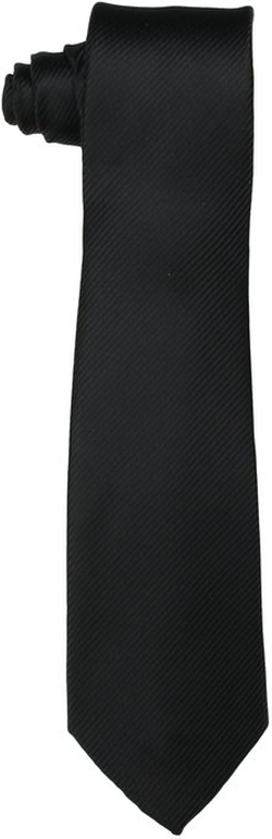 Little Black Tie - Dimension Solid Necktie