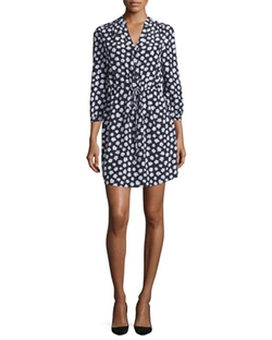 Kate Spade New York  - Mini Faye Floral Print Shirtdress