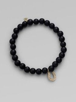 Sydney Evan  - Gold Horseshoe Bracelet