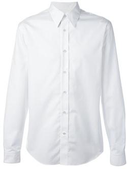 Alexander Mcqueen   - Pleated Dress Shirt