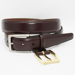 Torino  - Glazed Kipskin Leather Belt