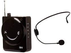 QFX - Portable Waist Band Belt Loud PA System With Microphone