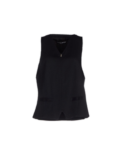 Frankie Morello - Zip FrontSleeveless Top